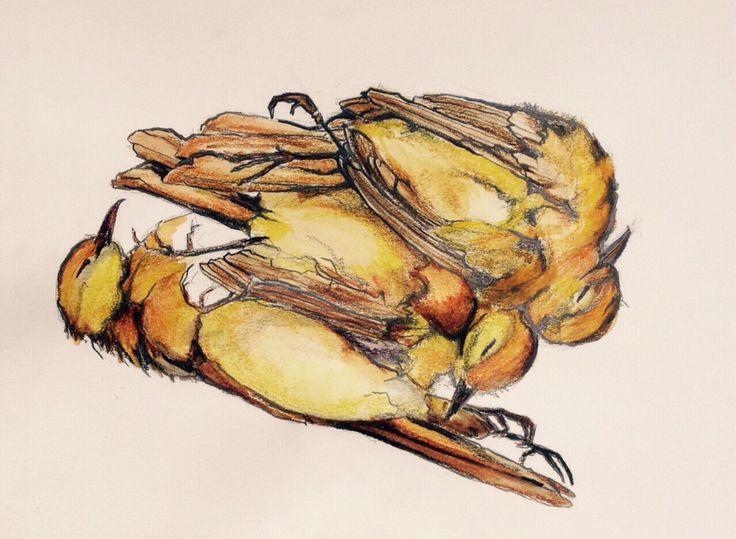 "Forever Asleep - Lisa McGregor   medium Derwent Inktense  size 8""x6"" Water soluble Colored pencil art"