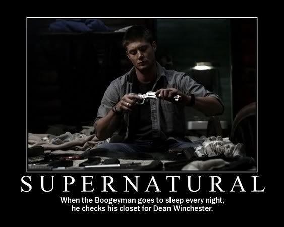 sum up Supernatural? Checkmate.