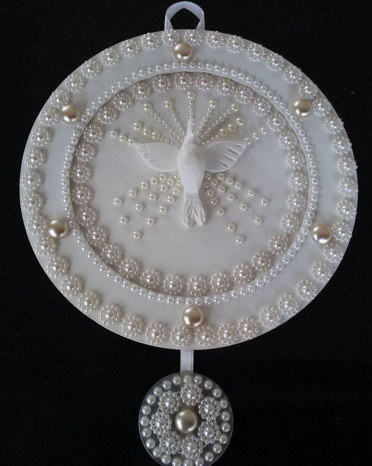 Mandala delicada para decoração de sua casa ! Medida 8 cm. #mandala #divinoespiritosanto #decor #cai - onebyonecaixas