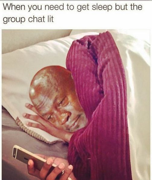 When the FOMO is real: | 17 Pictures That Are Too Real For People Who Hate Group Chats