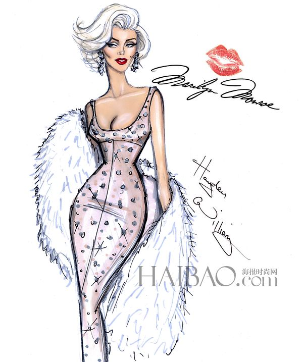 Les dessins de mode de Hayden Williams - china radio international