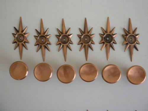 Vintage Copper Cabinet Hardware
