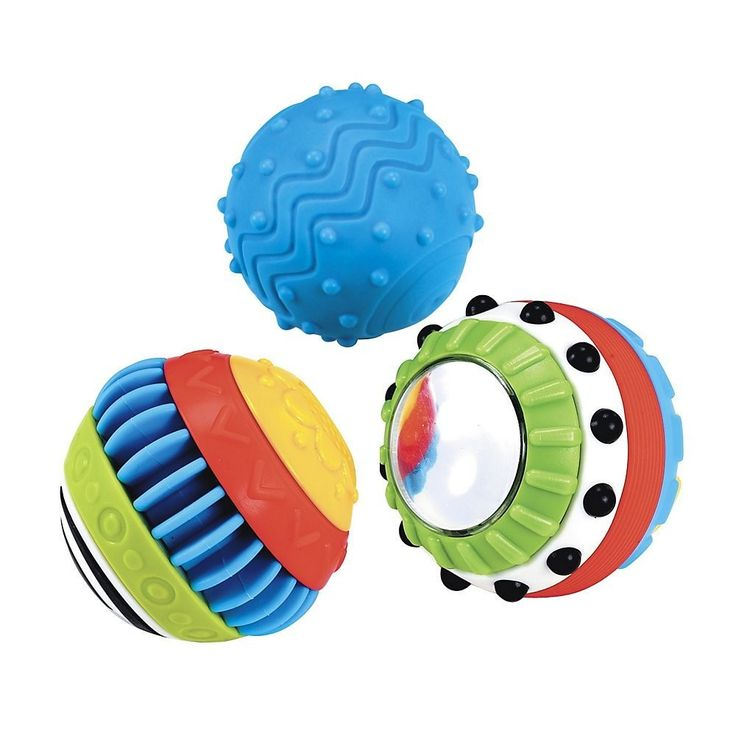 ELC Sensory Balls Set of 3 - ELC Toys - Toys and Gifts   Babycity
