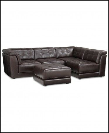 Slipcovers For Sofas Milano Leather Sectional sofa Piece