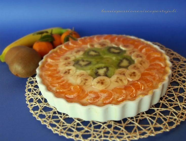 Crostata alla frutta con gelatina