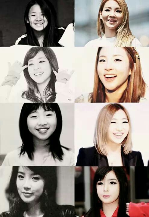 Pre debut and now :3 Who is diffrent?
