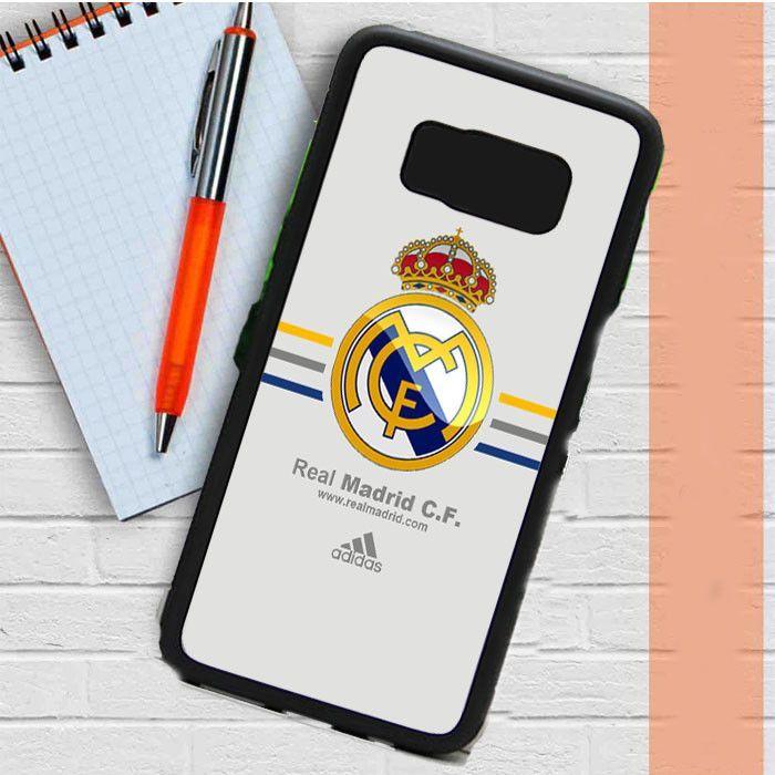 Real Madrid Club De Fútbol La Liga Spanyol Logo Samsung Galaxy S8 Plus Case Casefreed