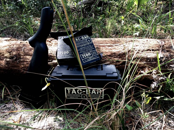 Field testing Tac-Bar Tactical Food Rations in Florida Everglades