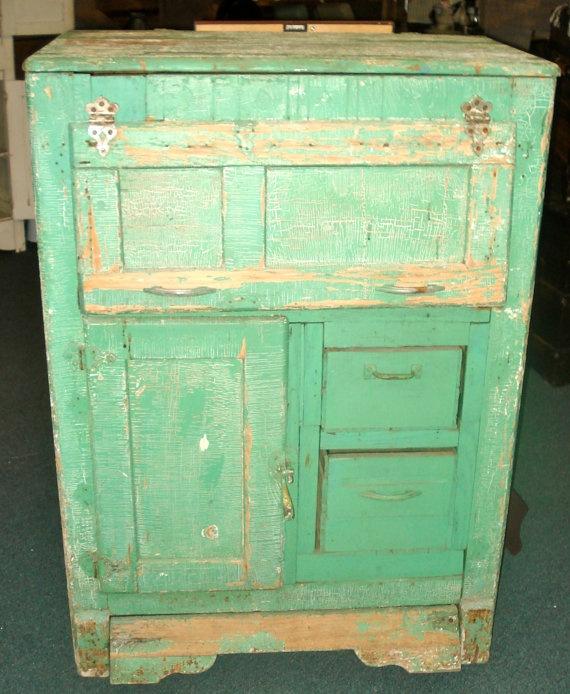 Antique Wooden Tool Cabinet Wooden Bathroom Elements