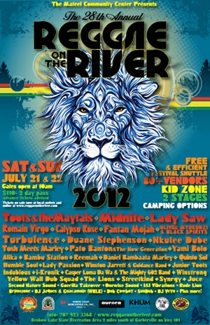 28th Annual Reggae on the River