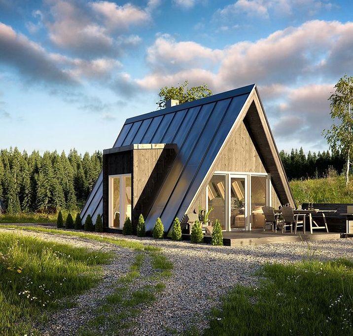 Ayfraym A Frame House Or Cabin Plans Kits Ev Aframe
