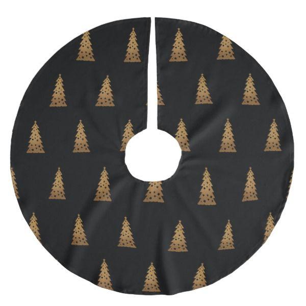Christmas trees brushed polyester tree skirt #christmas #treeskirts #xmas #tree