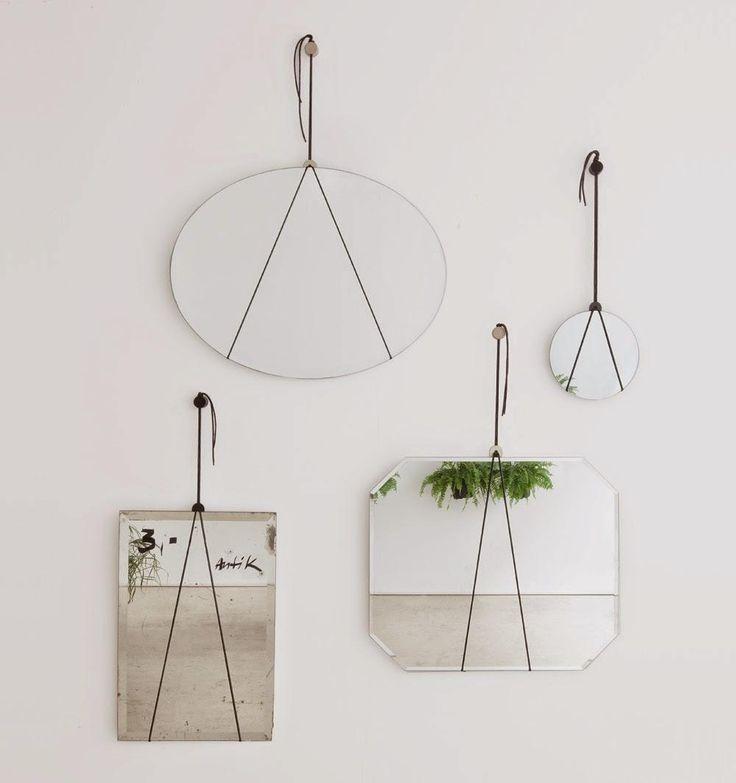 DIY / Mon petit miroir ... minimaliste /