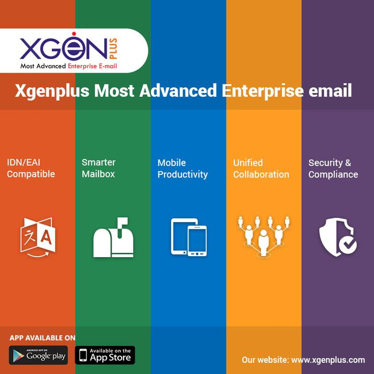 XGenPlus has specifically designed modules for organizations that not only require email communication, but a platform that is secure and easy to use. Visit us for service: http://bit.ly/2ArU1yx   #xgenplus #enterpriseemail #emailsolution