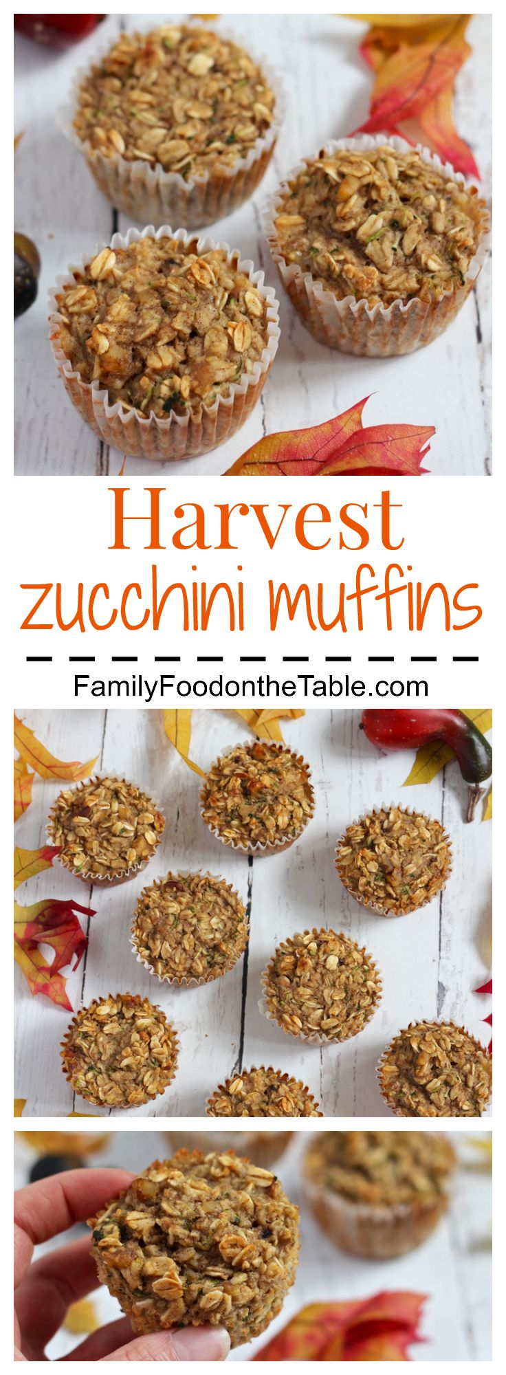 Harvest zucchini muffins are packed with wholesome goodness! And they're…