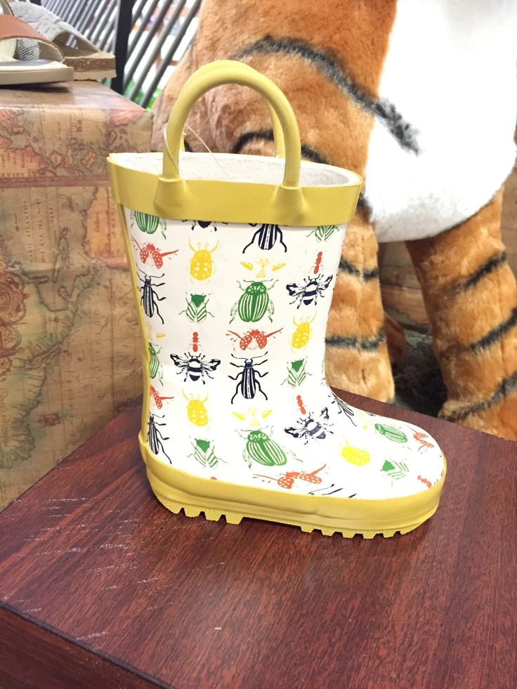 Rockin' Baby Boys Splashin' Wellies Rain Boots