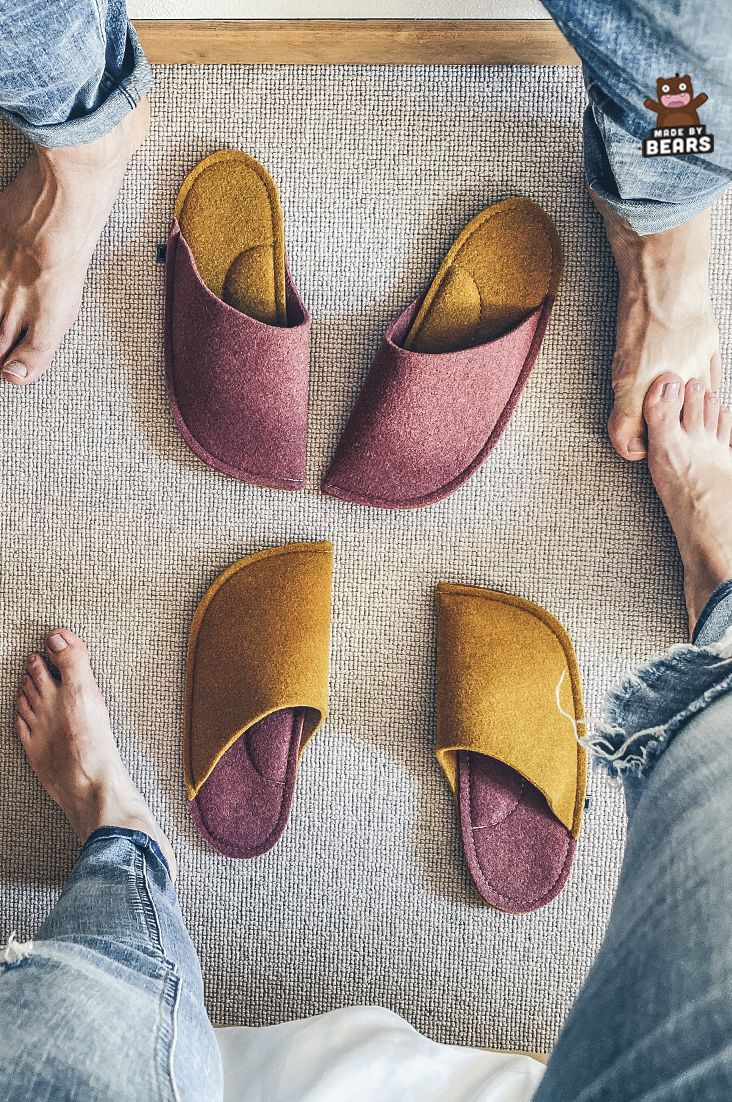 Unique slippers - housewarming gift