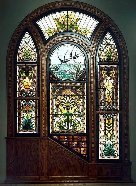 Una puerta hermosa.