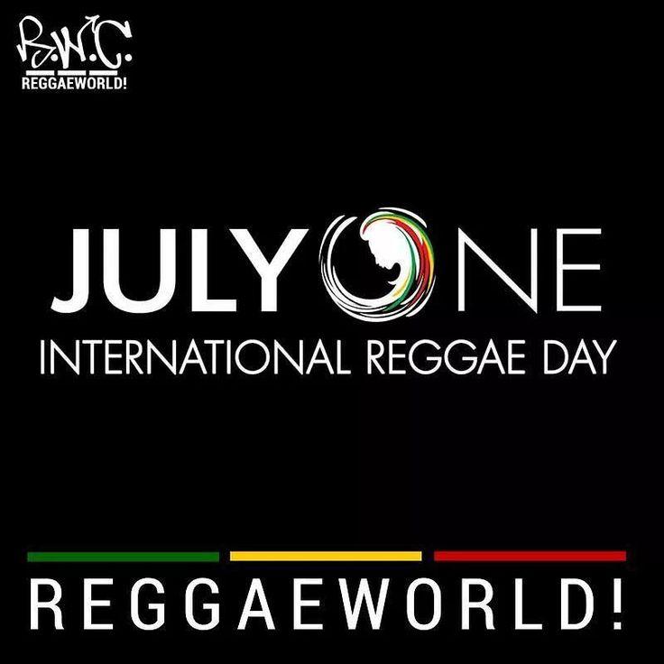 Nosotros nos unimos desde  Hoy 1 de Julio se celebra el Día Internacional del Reggae en Jamaica con un gran festival Si queres sumarte vos también a la celebración del día del reggae subí el volumen al máximo y disfruta de este genero que nos da todo  Y en todo el planeta  no solo en Jamaica se disfruta del festival otros países como Nueva YorkHawai Miami Londres Bombay se unen a la celebración