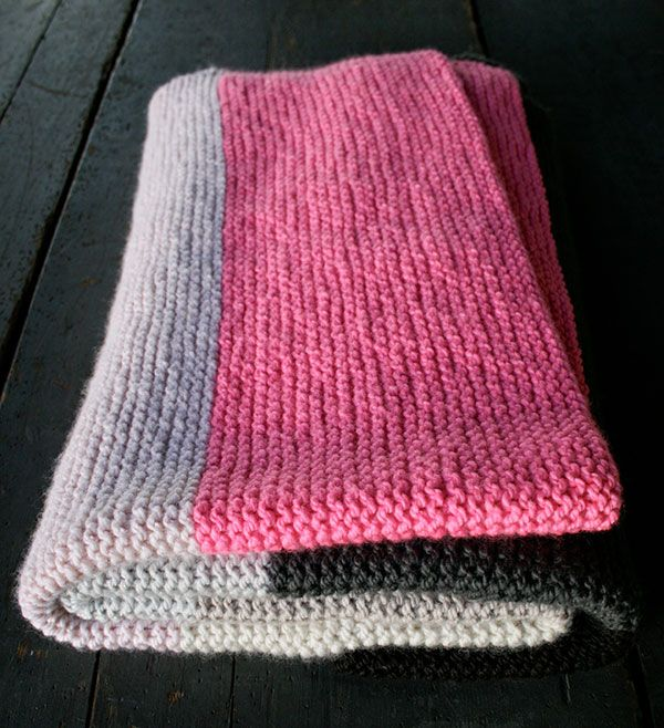 Knitting Pattern For Baby Blanket Beginner : Best 25+ Beginner knitting blanket ideas on Pinterest