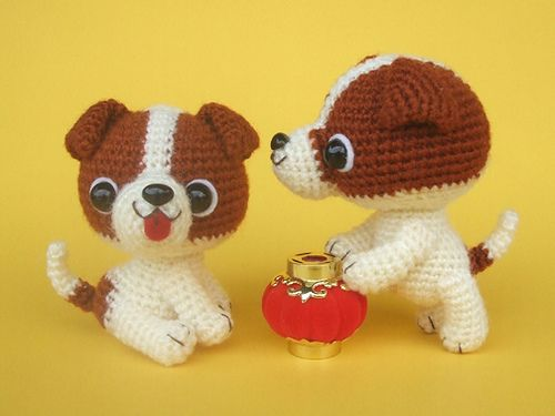 Jack Russell Terrier puppies, via Flickr. Amigurumis ...