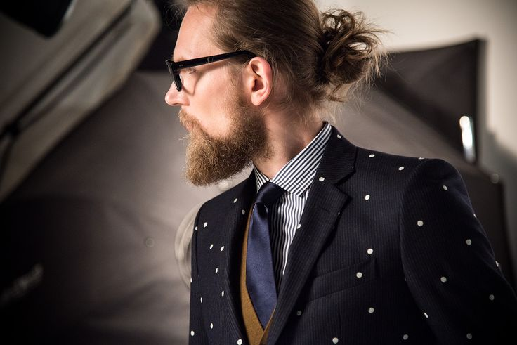 Brian Dales Italian Style   FW2015/16 Collection  #man #pois #beard man, #glasses.