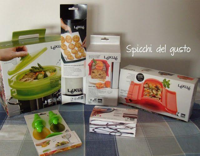 Spicchi del gusto: Lékué e la mia cucina diventa subito speciale!!!