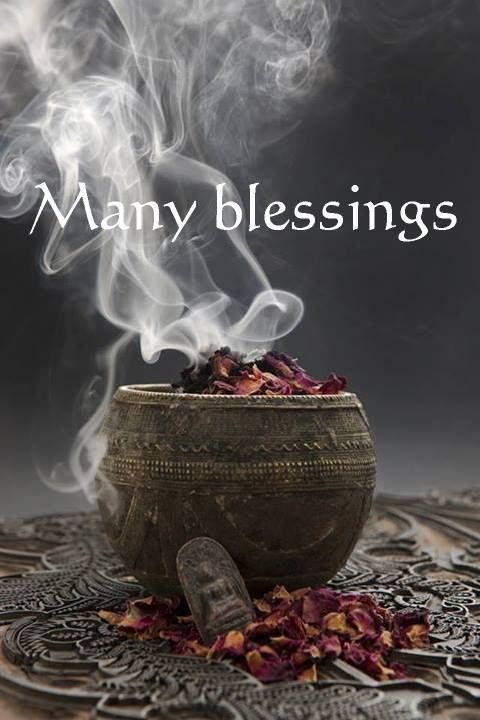 Image result for many blessings pics Pagan