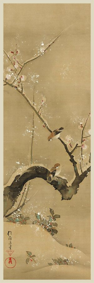 Japanese print. Print art. Birds and Flowers of the by CredoArt