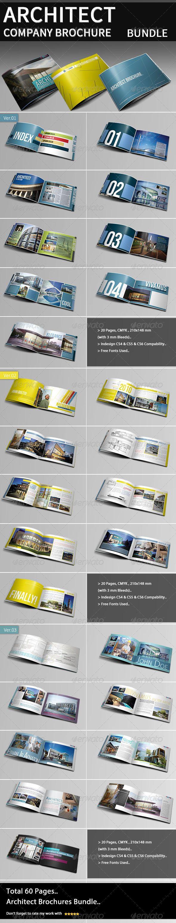 Architecture Company Brochure Bundle