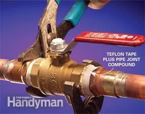 Stop Leaks in Plumbing Joints