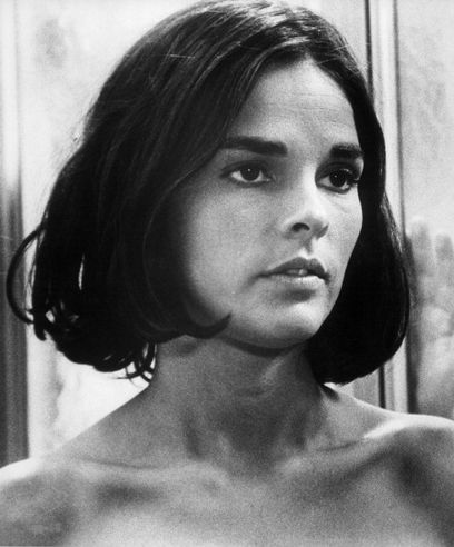 Ali MacGraw in 'Goodbye, Columbus,' 1969