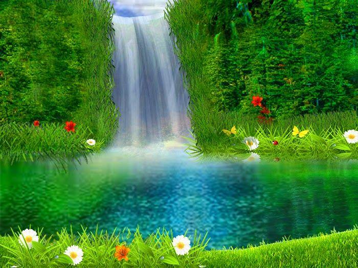 Paisajes lindos con cascadas buscar con google bellos for Buscar fondo de pantallas gratis