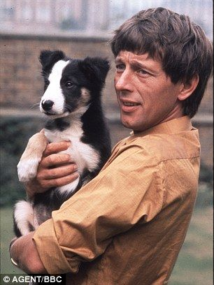 Former Blue Peter presenter John Noakes has dementia ~ he was always up for doing anything a bit of a daredevil and he just loved Shep the puppy he is pictured with here.