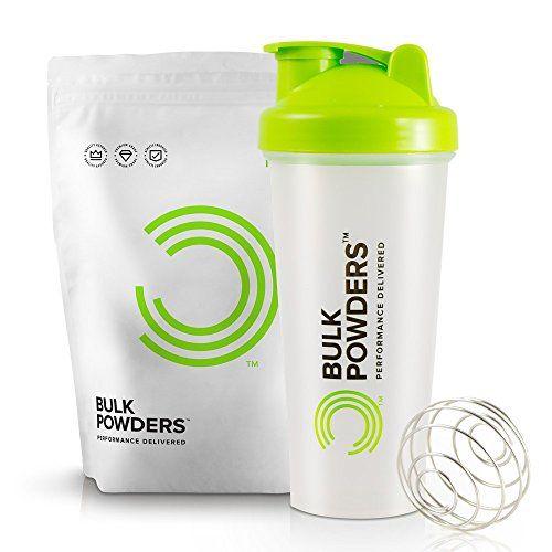 Bulk Powders Pure Whey Protein 1kg Chocolate  Shaker 600ml