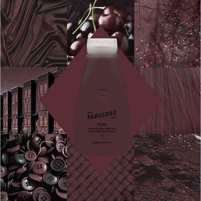 in salon – 2g chocolate + 1g violet + 17g conditioner retail -230g retail conditioner base + 6g chocolate + 4g violet +10g conditioner #fabulosopro #evo #violetsmudge