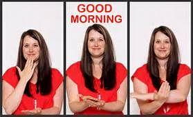 Good Morning in Sign Language