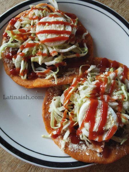 Enchiladas Salvadoreñas - Salvadoran Enchiladas