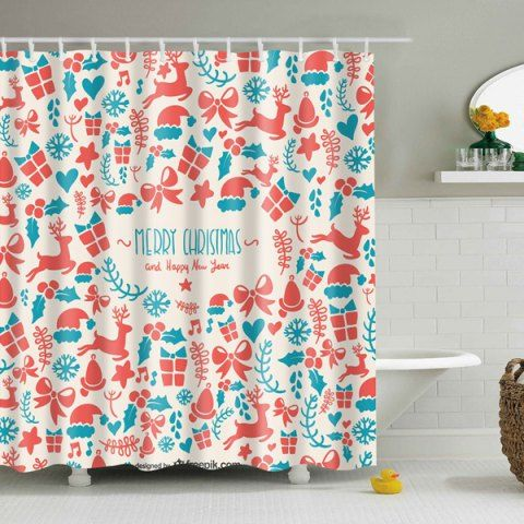GET $50 NOW   Join RoseGal: Get YOUR $50 NOW!http://www.rosegal.com/bath-accessories-storage/christmas-supplies-print-waterproof-polyester-902014.html?seid=3634767rg902014