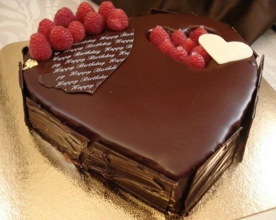 Dark Chocolate And Raspberry Dessert Dark Chocolate
