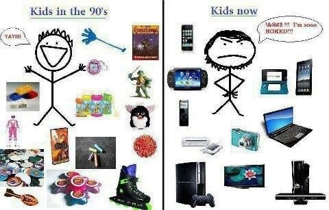 Dating now vs the 90s