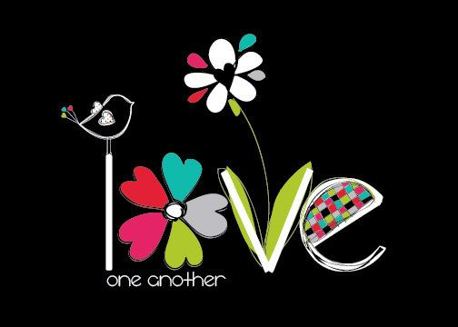 """Love❤️""""A new command I give to you: Love one another. As I have loved you, so you must love one another. By this all men will know that you are my disciples, if you love one another."""" - John 13:34-35♥"""