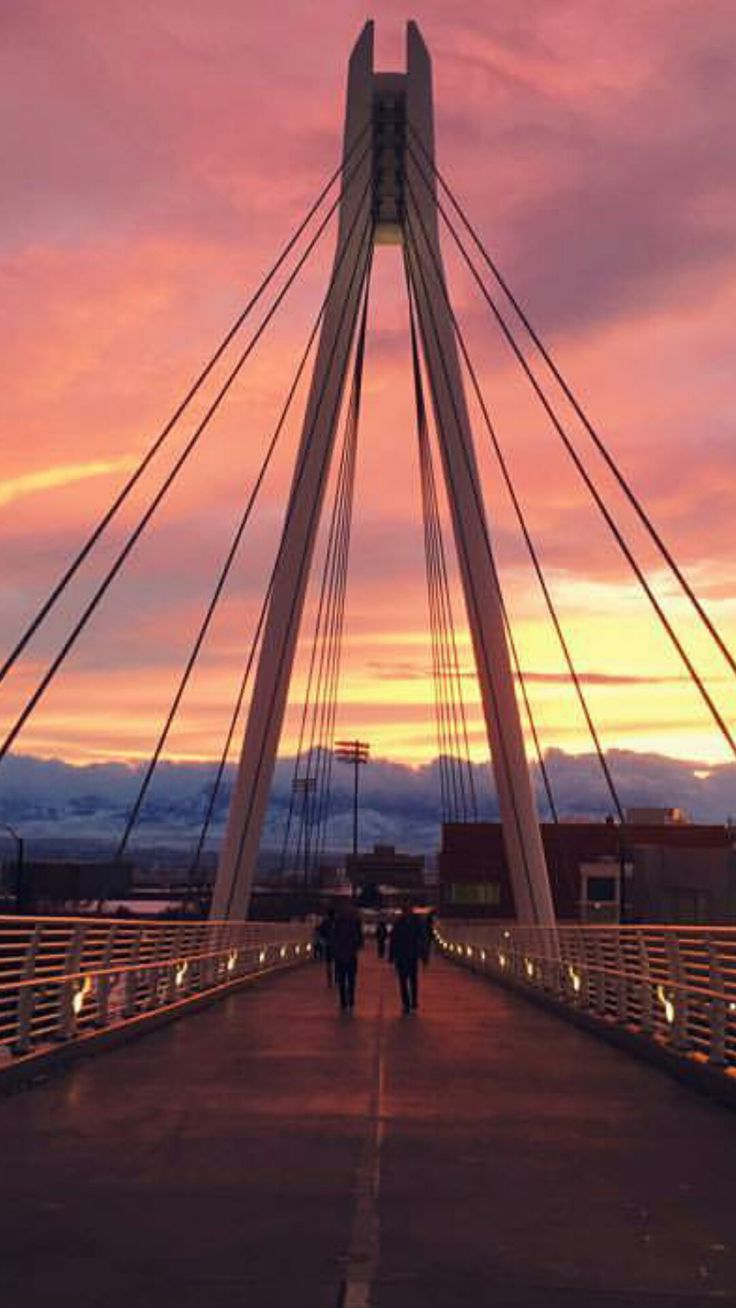 University of Utah Bridge Sunset!