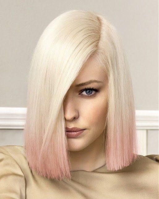 Du möchtest im Mittelpunkt stehen? Vielleicht mit einer dieser tollen Frisuren in Pastelltönen, wie Lila und Pink! - Neue Frisur