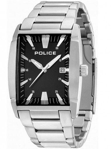Police New Avenue Stainless Steel Black Bracelet Watch 13887MS-02M