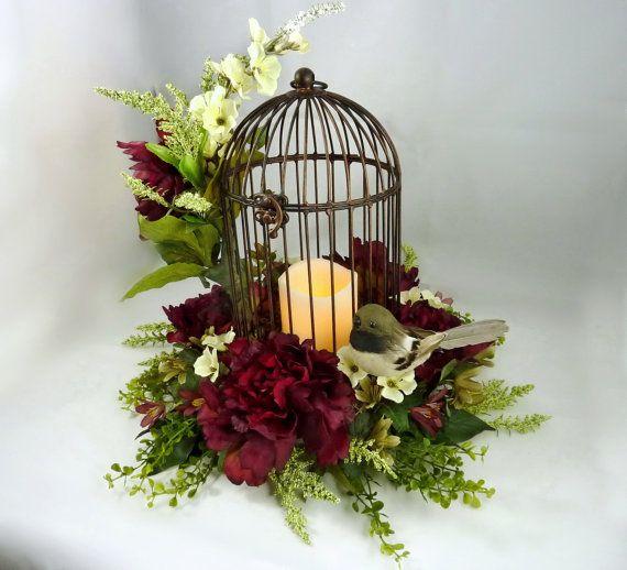 Best bird cage centerpiece ideas on pinterest