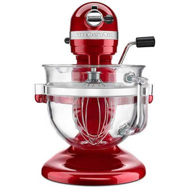 KITCHENAID Pro 600 Stand Mixer with 6-Quart Glass Bowl Red $429.99 SHIPPED FREE WORLDWIDE! GET AN EXTRA 15% OFF ENTER CHECKOUT PROMO CODE: PINTV16 AromaCulinary.Com