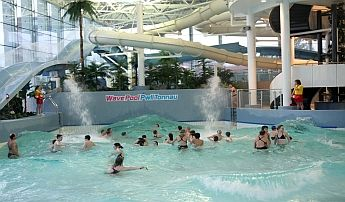 The Lc Waterpark Is Wales Biggest Indoor Water Park With A Network Of Pools Rides And Slides