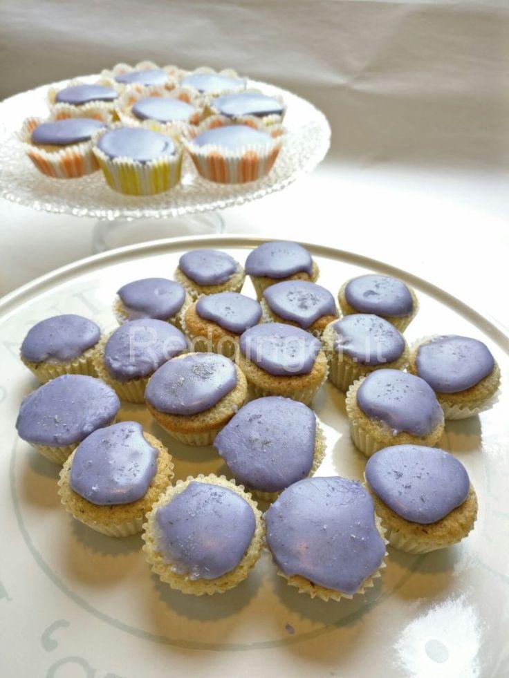 Mini cupcakes alla lavanda front
