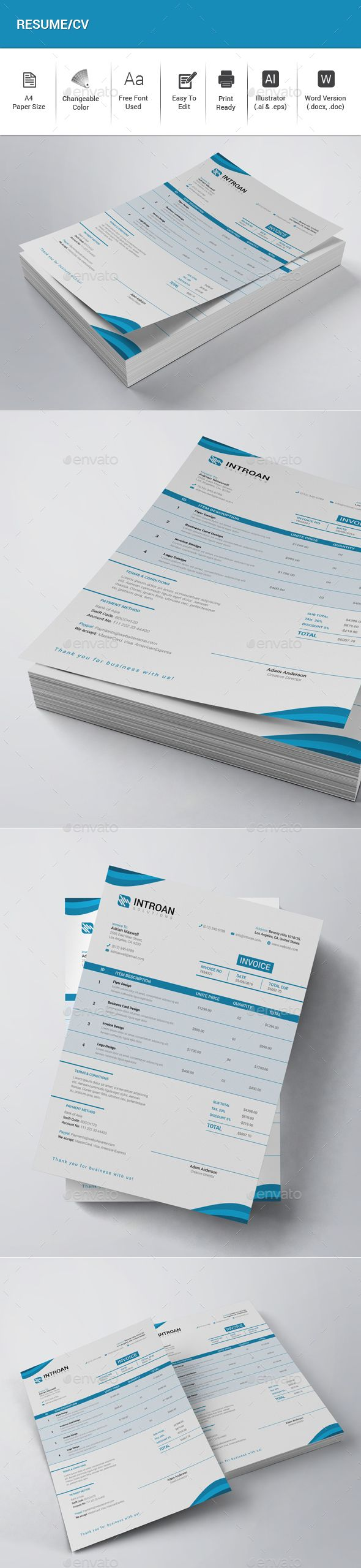 Invoice 16 best Stationary images on Pinterest
